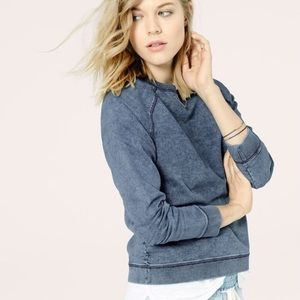 Lou & Grey | Indigo Denim Sweatshirt